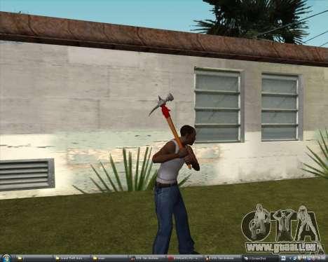 Marteau d'Assassins Creed Brotherhood pour GTA San Andreas deuxième écran