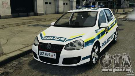 Volkswagen Golf 5 GTI South African Police [ELS] pour GTA 4