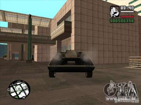 Autos von Flatout 2 für GTA San Andreas Rückansicht