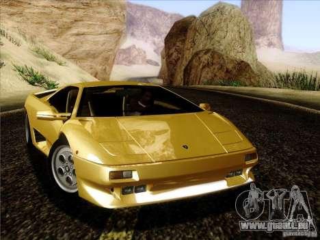 Lamborghini Diablo VT 1995 V3.0 für GTA San Andreas linke Ansicht