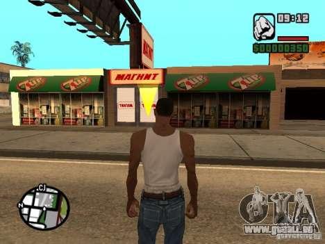 Magnet-Geschäfte für GTA San Andreas her Screenshot