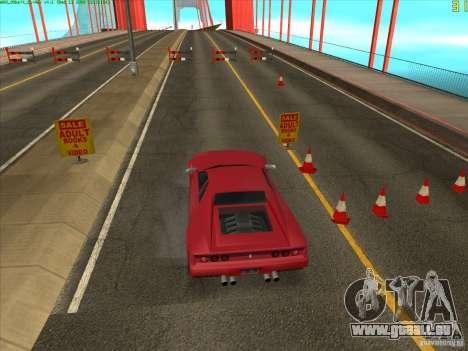 Takomskij Bridge (pont de Tacoma Narrows) pour GTA San Andreas quatrième écran