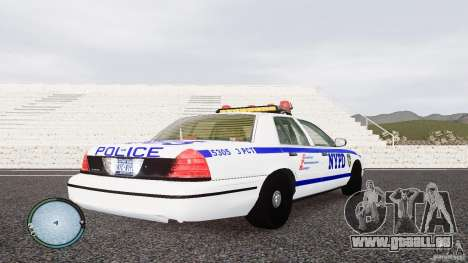 Ford Crown Victoria 2003 NYPD für GTA 4 rechte Ansicht
