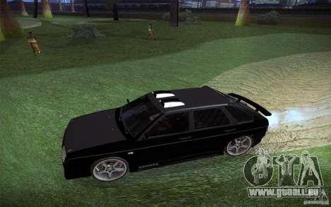 VAZ 2109 Carbon für GTA San Andreas Innenansicht