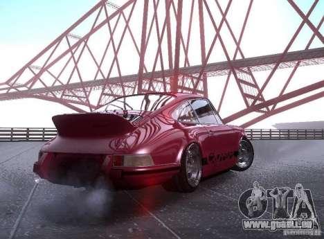 Porsche Carrera RS pour GTA San Andreas laissé vue