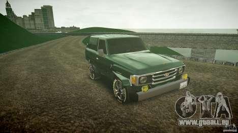 Toyota Land Cruiser 4.5 V2 pour GTA 4 Vue arrière