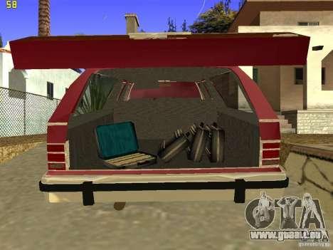 Mercury Grand Marquis Colony Park für GTA San Andreas Rückansicht