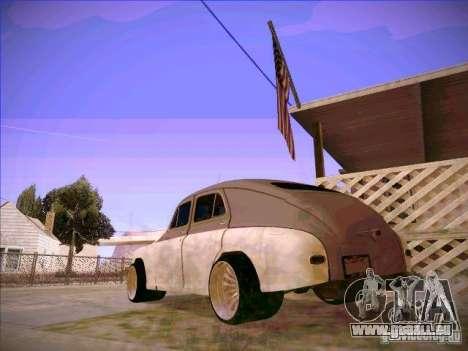 GAZ m 20 premiers 1956 pour GTA San Andreas laissé vue