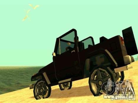 Mesa From Beta Version für GTA San Andreas zurück linke Ansicht
