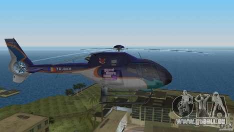 Eurocopter Ec-120 Colibri für GTA Vice City zurück linke Ansicht