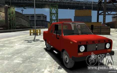 FSR Tarpan 237D für GTA 4 Rückansicht