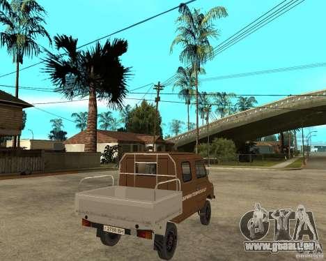 LuAZ-13021-04 für GTA San Andreas zurück linke Ansicht