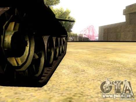 Type 59 V2 für GTA San Andreas Innenansicht