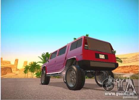 Patriote de GTA 4 pour GTA San Andreas vue de droite