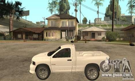 Dodge Ram SRT 10 für GTA San Andreas linke Ansicht