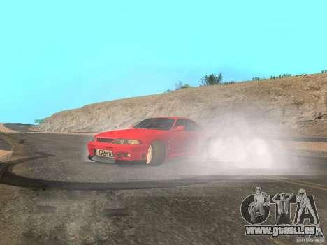 Nouvelle eau de textures et de fumée pour GTA San Andreas sixième écran