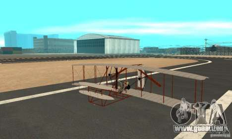The Wright Flyer pour GTA San Andreas