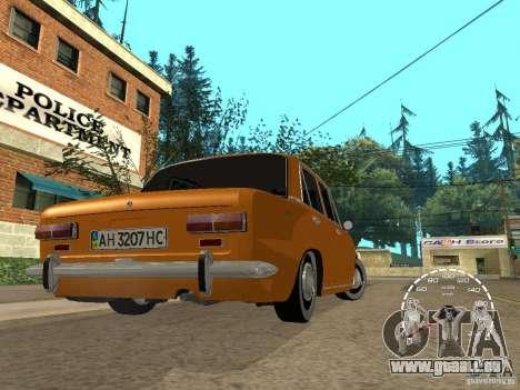VAZ 2101 restauré pour GTA San Andreas laissé vue