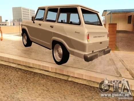 Chevrolet Veraneio de Luxo 1973 für GTA San Andreas rechten Ansicht