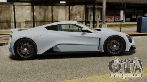 Zenvo ST1 für GTA 4 linke Ansicht