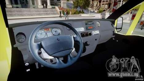 Renault Master 2007 Ambulance Scottish [ELS] pour GTA 4 vue de dessus