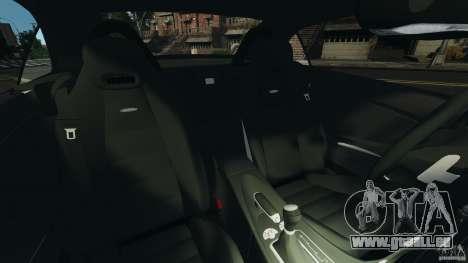 Mercedes-Benz SLK 55 AMG 2010 pour GTA 4 est une vue de l'intérieur