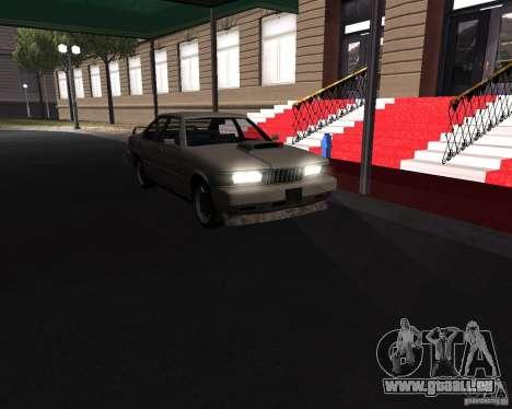 Sentinel XS 1992 für GTA San Andreas zurück linke Ansicht