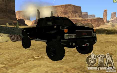 GMC Topkick Ironhide TF3 für GTA San Andreas