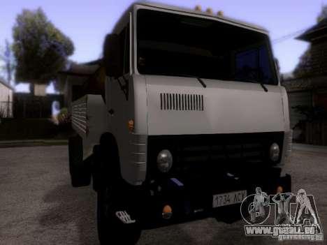 KAMAZ 53212 Milch tanker für GTA San Andreas rechten Ansicht