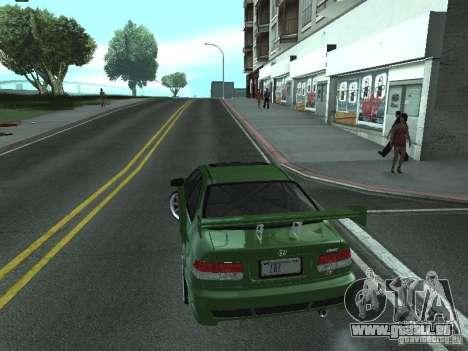 Honda Civic Si Sporty für GTA San Andreas linke Ansicht