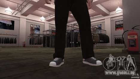 Converse Allstars pour GTA 4 secondes d'écran