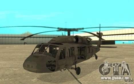UH-80 pour GTA San Andreas laissé vue