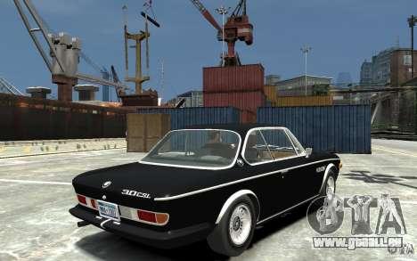 BMW 3.0 CSL E9 1971 pour GTA 4 est un droit