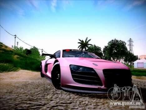 Audi R8 LMS v2.0 pour GTA San Andreas laissé vue