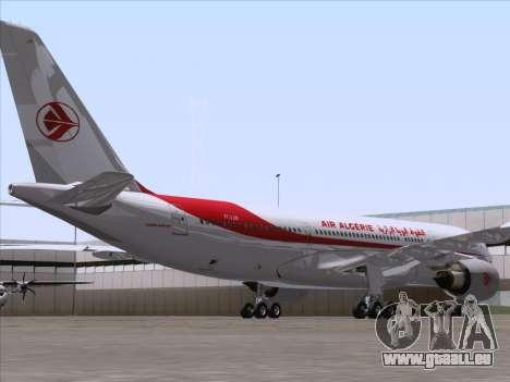 Airbus A330-203 Air Algerie für GTA San Andreas rechten Ansicht