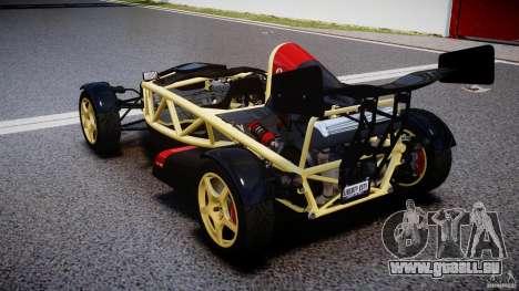 Ariel Atom 3 V8 2012 pour GTA 4 Vue arrière de la gauche