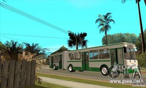 LIAZ 6212 pour GTA San Andreas laissé vue