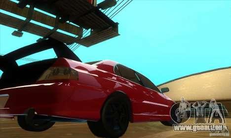 Mitsubishi Lancer Evolution IX Carbon V1.0 pour GTA San Andreas vue de droite