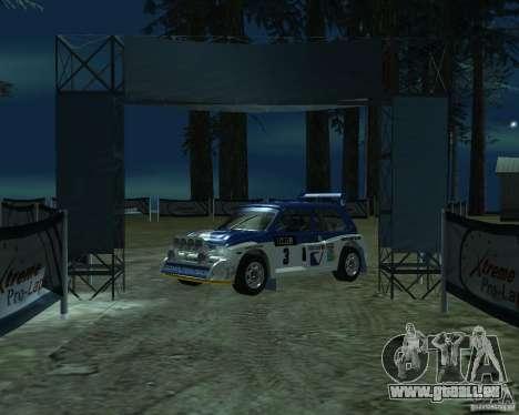 MG Metro 6M4 Group B pour GTA San Andreas laissé vue