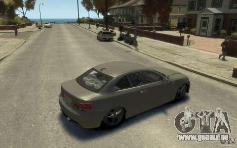 BMW 135i pour GTA 4 est un droit