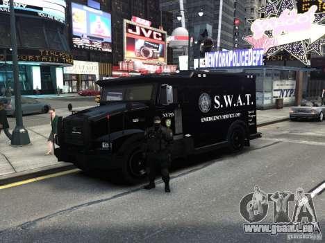 SWAT - NYPD Enforcer V1.1 pour GTA 4