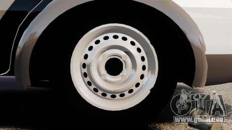 Fiat Palio Weekend Trekking 2013 PMESP ELS pour GTA 4 Vue arrière