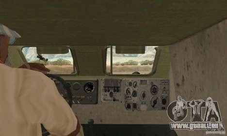 BRDM-1 Skin 1 für GTA San Andreas Rückansicht
