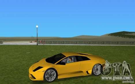 Lamborghini Murcielago LP640 pour GTA Vice City vue arrière