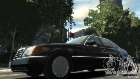 Mercedes-Benz 600SEL wheel2 non-tinted pour GTA 4 est une gauche