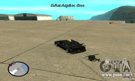 Véhicules RC pour GTA San Andreas dixième écran