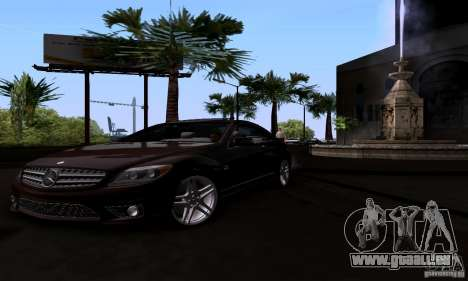 Mercedes-Benz CL65 AMG E.U. pour GTA San Andreas vue de droite