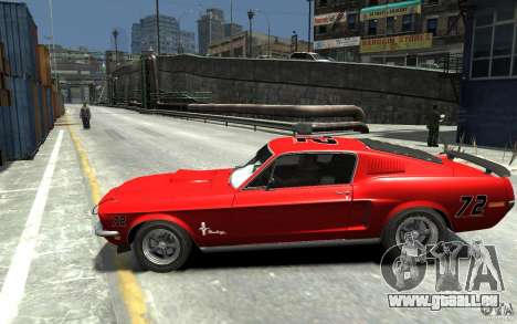 Ford Mustang Fastback 302did Cruise O Matic pour GTA 4 est une gauche