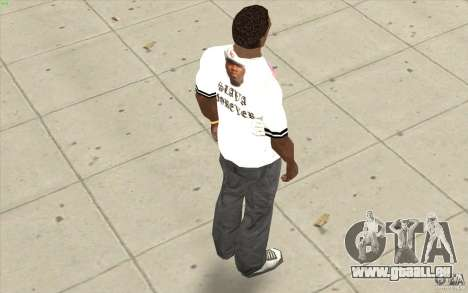 T-shirt : Slavik exubérante pour GTA San Andreas quatrième écran