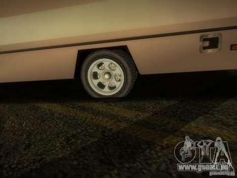 Journey für GTA San Andreas Rückansicht